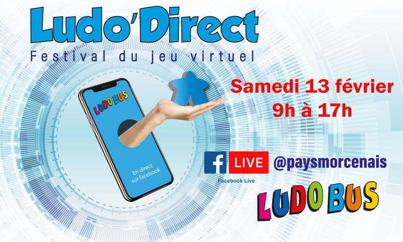 Ludo'Direct - Festival du jeu virtuel en replay